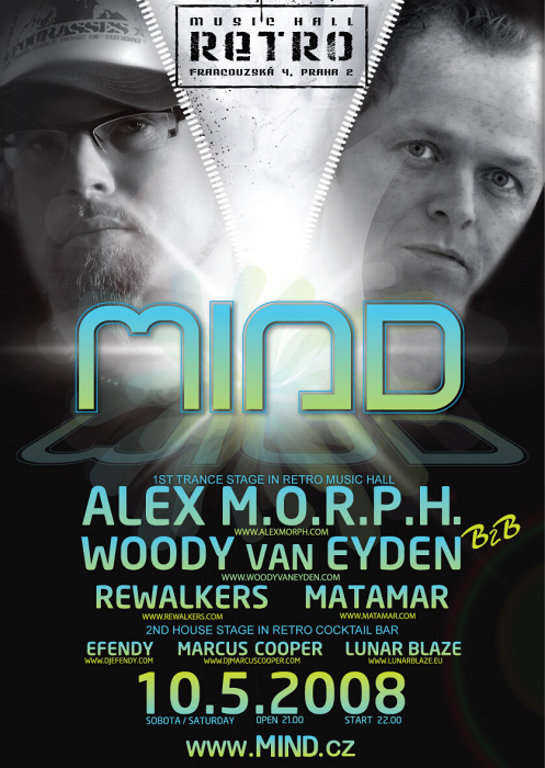 Mind: trance party v Retru
