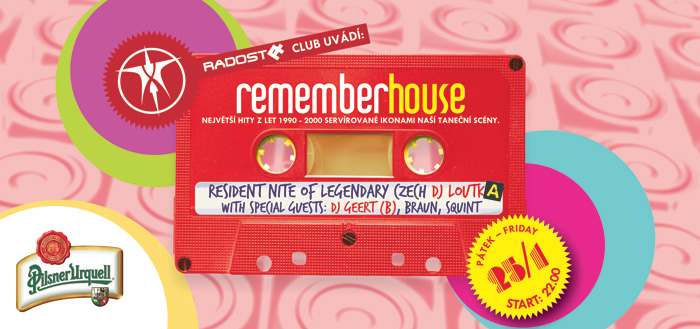 Retro house party v Radosti FX
