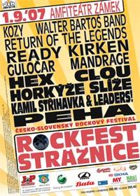 Rockfest ve Strážnici: první ročník