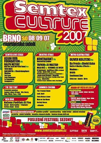 Semtex Culture 2007 se hlásí o slovo