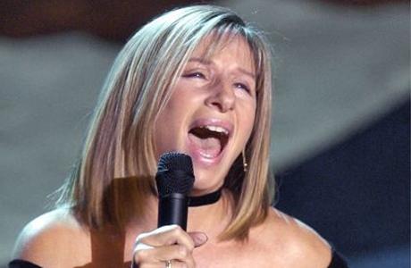 Barbra Streisand zazpívá Obamovi