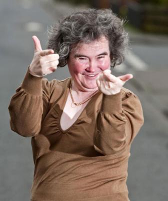 Susan Boyle přepisuje hudební dějiny