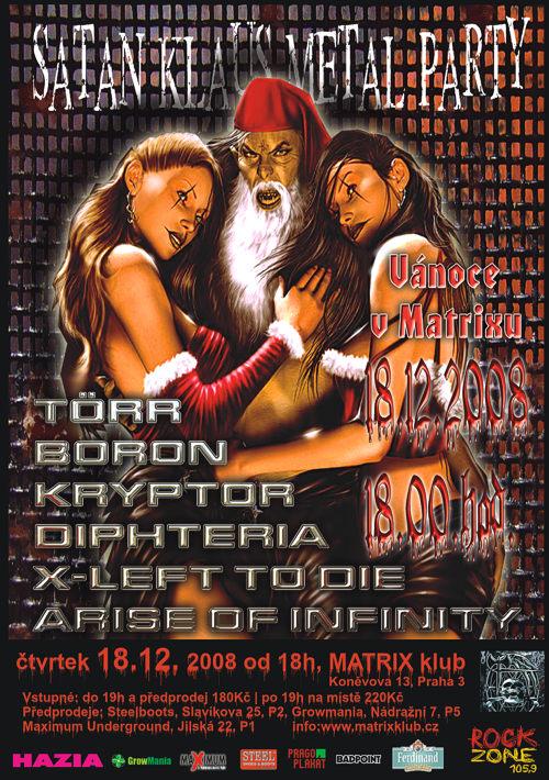 Metalové Vánoce v Matrixu
