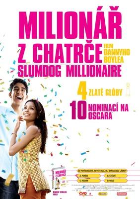 Milionář z chatrče na DVD a Blu-Ray