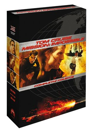 Mission Impossible - komplet 3DVD