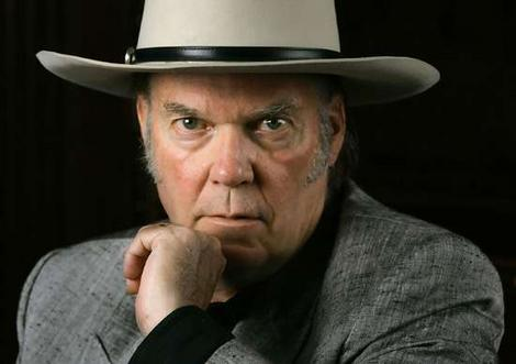 Neil Young s producentem U2