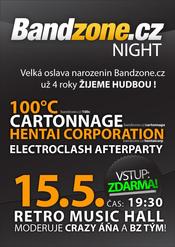 Bandzone.cz slaví narozeniny