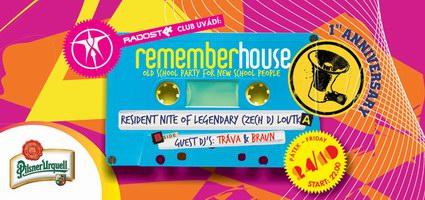 Výroční Remember House již zítra