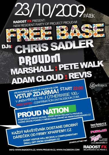 Free Base: nová noc Radosti FX