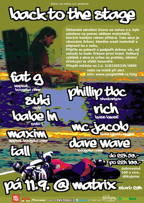 Přijďte podpořit zraněného DJe Fat-G