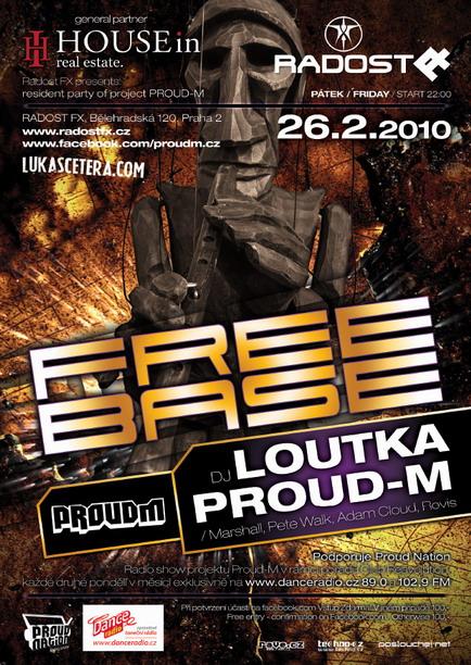 DJ Loutka hostem Free Base