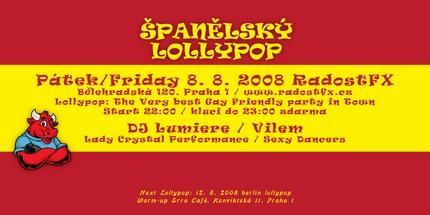 Lollypop ve španělském rytmu
