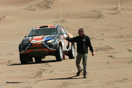 Michal Malátný se vrátil z Dakaru