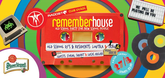 Remember House již tento pátek