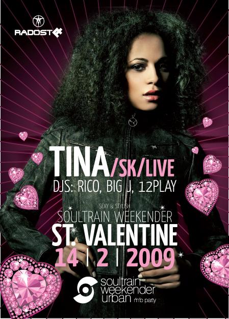Oslavte Valentýna s Tinou