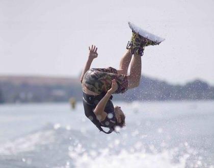 Wakeboardové léto na Lipně