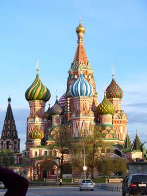 Na cestách: Moskva