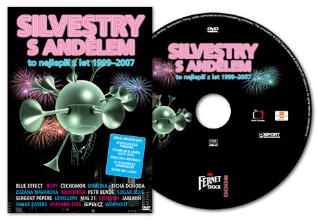Křest DVD Silvestry s Andělem na Sázavafestu