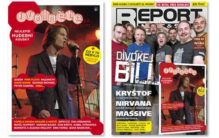 Hudba z Uvolněte se… v REPORTu 12/09