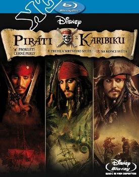 Piráti z Karibiku Trilogie na Blu-Ray