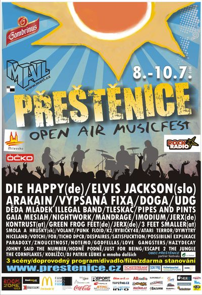 Open Air Musicfest Přeštěnice dnes