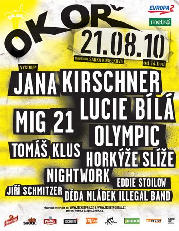 Festival Okoř s Janou Kirschner