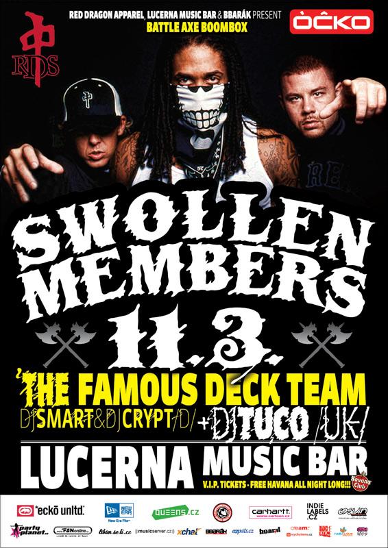 Po 3 letech se vrací Swollen Members