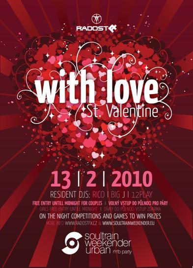 Valentýnská párty v Radosti
