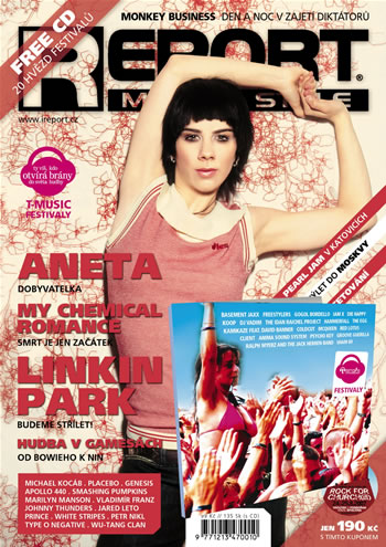 CD s hvězdami festivalů u REPORTU 7-8/07