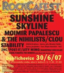 RockCafest Dobřichovice: Sunshine Reggae