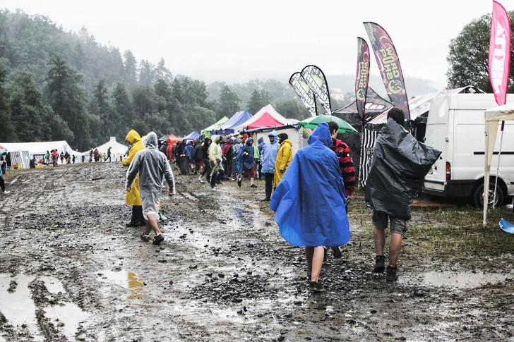 Sázavafest: utopený v bahně