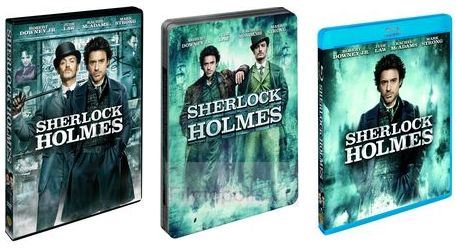 Sherlock na DVD a Blu-Ray spolu s deštníkem