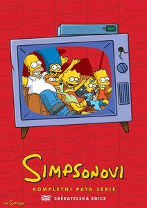 Simpsonovi - kompletní 5. sezóna na DVD