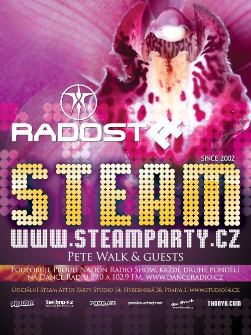 DJ Marshall hostem párty Steam