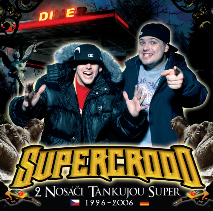 SuperCrooo tankují double CD