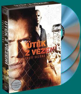 Útěk z vězení - 3. sezóna vychází na DVD
