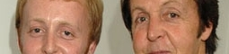 Paul McCartney a jeho syn točí desku