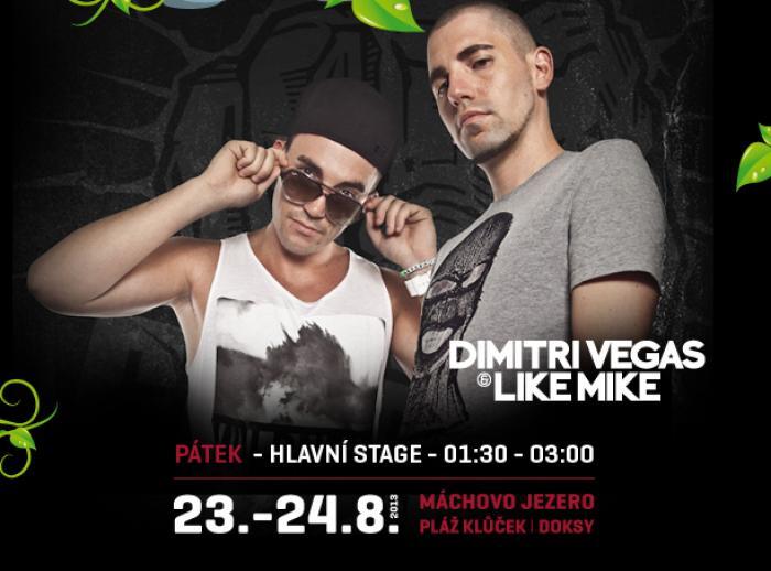 Dimitri Vegas & Like Mike na Mácháči!