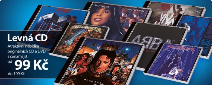 CD, DVD, trička, čepice a další hudební merch za super ceny!