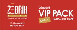 Hudební ceny Žebřík – VIP pack
