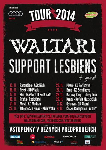 Waltari + Support Lesbiens tour