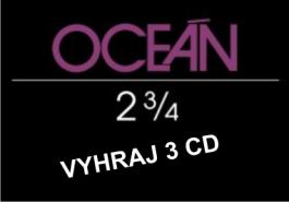 Vyhraj nové CD Oceán
