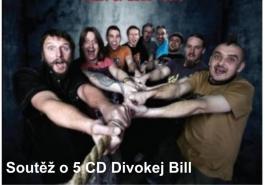 Soutěž o 5 CD Divokej Bill