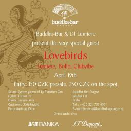 Loverbirds @ Buddha Bar