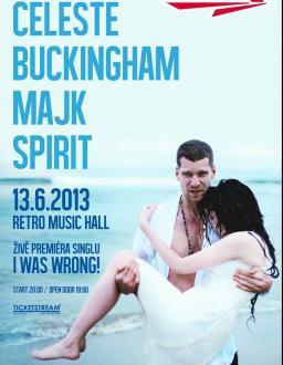 Celeste Buckingham & Majk Spirit