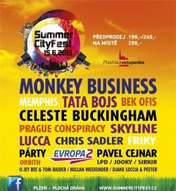Summer City Fest: na ploché dráze v Plzni očekávejte jízdu Tata Bojs i Celeste Buckingham