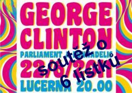 Vyhraj 6 lístků na funkovou show George Clintona