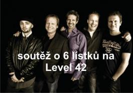 Soutěž o 6 lístků na Level 42