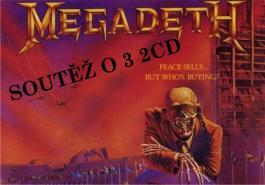 Soutěž o 3x 2CD Megadeth