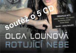 Soutěž o 5 CD Olgy Lounové - Rotující nebe